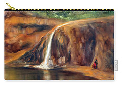 Carry-all Pouch featuring the painting Violin by Randol Burns