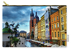 Romance In Krakow Carry-all Pouch by Kasia Bitner