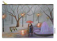Romance In The Park Carry-all Pouch