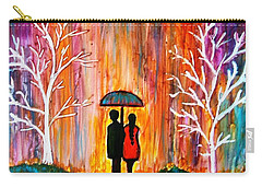 Romance In The Rain Carry-all Pouch