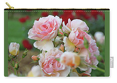 Romance Is In The Air - Images From The Garden - Roses Carry-all Pouch
