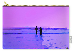 Romance On The Beach Carry-all Pouch