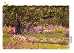 Carry-all Pouch featuring the photograph Romanesquerie by Aimelle