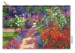 Romantic Garden Walk Carry-all Pouch