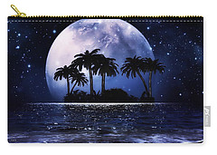 Carry-all Pouch featuring the mixed media Romantic Night  by Gabriella Weninger - David