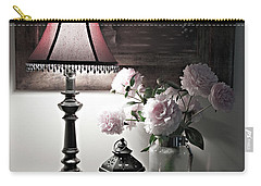 Carry-all Pouch featuring the photograph Romantic Nights by Sherry Hallemeier