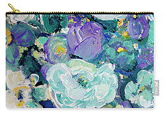 Romantic Rose Garden Carry-all Pouch