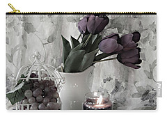 Carry-all Pouch featuring the photograph Romantic Thoughts by Sherry Hallemeier