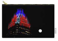 Romare Bearden Park In Charlotte 2 Carry-all Pouch by Serge Skiba