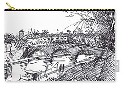 River Drawings Carry-All Pouches