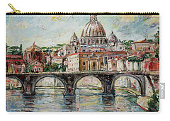 Rome Carry-all Pouch by Alexandra Maria Ethlyn Cheshire