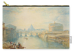 Rome Carry-all Pouch by Joseph Mallord William Turner