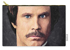 Ron Burgundy Carry-all Pouch