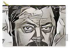 Ron Swanson Carry-all Pouch by Paul Van Scott