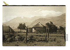 Rondavel In The Drakensburg Carry-all Pouch