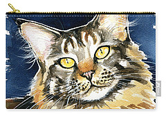 Ronja - Maine Coon Cat Painting Carry-all Pouch