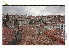 Roofs Over Santiago Carry-all Pouch by Angel Jesus De la Fuente