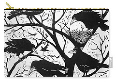 Rooks Carry-all Pouch by Nat Morley