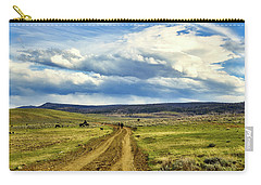 Room To Roam - Wyoming Carry-all Pouch by L O C
