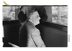 Roosevelt And Churchill Carry-all Pouch by Granger