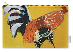 Carry-all Pouch featuring the painting Rooster 2 by Donald J Ryker III