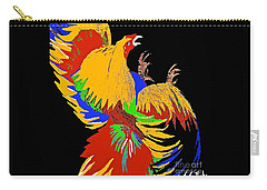 Rooster Fight Carry-all Pouch