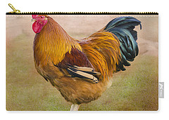 Rooster Carry-all Pouch by Linsey Williams