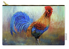 Rooster Carry-all Pouch by Loretta Luglio