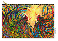Roosters Frienship Carry-all Pouch