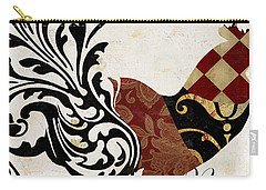 Roosters Of Paris II Carry-all Pouch by Mindy Sommers