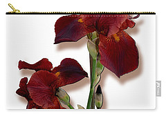 Root Beer Irises Carry-all Pouch