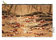 Roots Along The Path Carry-all Pouch by Joni Eskridge