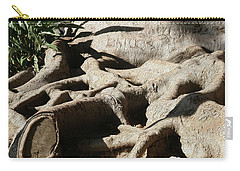Roots And Graffiti Carry-all Pouch