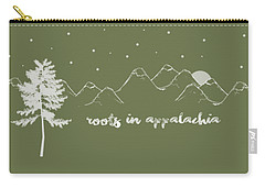 Carry-all Pouch featuring the digital art Roots In Appalachia by Heather Applegate