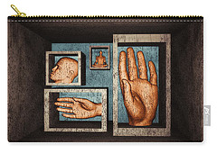 Carry-all Pouch featuring the digital art Roots Of Creativity by John Alexander