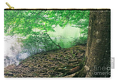Roots On The River Carry-all Pouch by Rachel Hannah