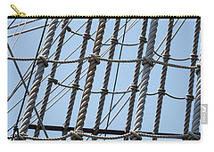 Carry-all Pouch featuring the photograph Rope Ladder by Dale Kincaid