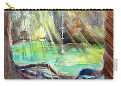 Rope Swing Carry-all Pouch by Carlin Blahnik