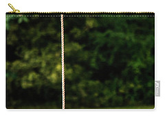 Carry-all Pouch featuring the photograph Rope Swing  by Shelby Young