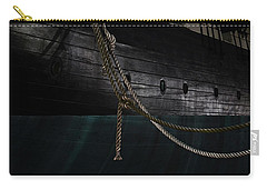 Ropes On The Uss Constellation Navy Ship Carry-all Pouch