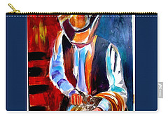 Ropin' N' Ridin' Carry-all Pouch by Ken Pridgeon