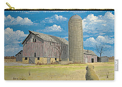 Carry-all Pouch featuring the painting Rorabeck Barn by Norm Starks