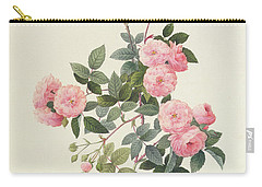 Rosa Multiflora Carnea Carry-all Pouch