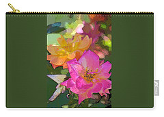Rose 114 Carry-all Pouch by Pamela Cooper