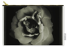Rose 12 Carry-all Pouch by John Krakora