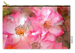 Rose 140 Carry-all Pouch by Pamela Cooper