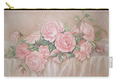 Rose Abundance Painting Carry-all Pouch
