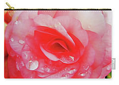 Rose After The Rain Carry-all Pouch