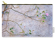 Carry-all Pouch featuring the photograph Rose And Yellow Flowers by Silvia Ganora