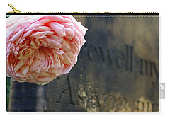 Rose At The Grave Carry-all Pouch